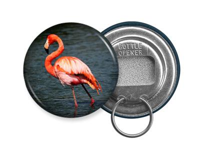 flamingo bottle opener keychain design 5 pink florida water bird animal lover ebay. Black Bedroom Furniture Sets. Home Design Ideas
